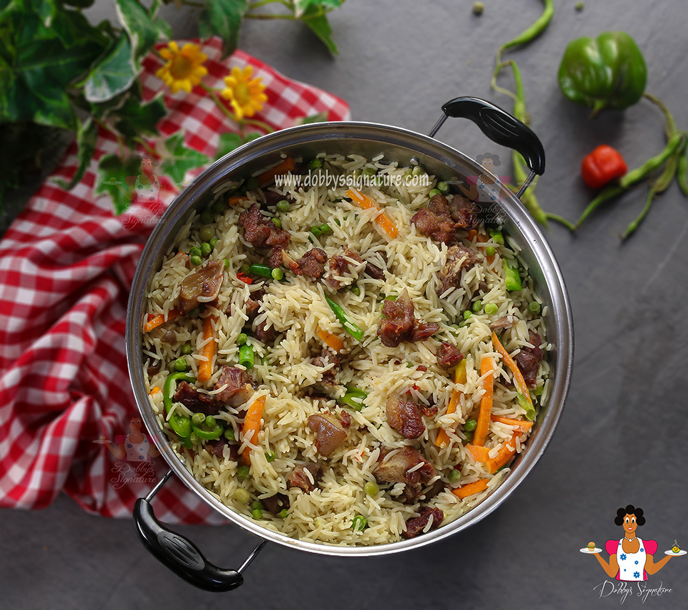Goat Meat Coconut Rice How To Make Goat Meat Coconut Rice